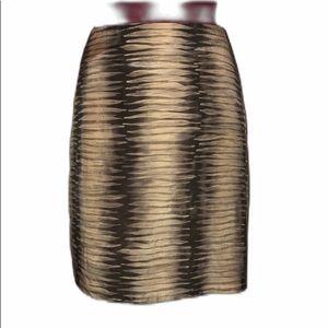Kenneth Cole Womens Size 6 Petite Silk Blend Skirt
